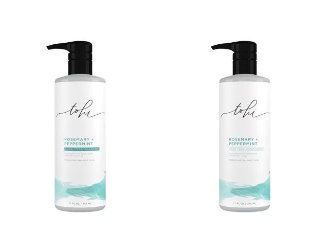 Tohi Rosemary and Peppermint Aloe Vera Shampoo andConditioner